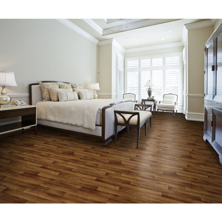 This Vinyl Flooring Is Cushioned For Extra Comfort Underfoot And Resists Stains As Well As Scratches It S Dura Vinyl Flooring Home Luxury Vinyl Tile