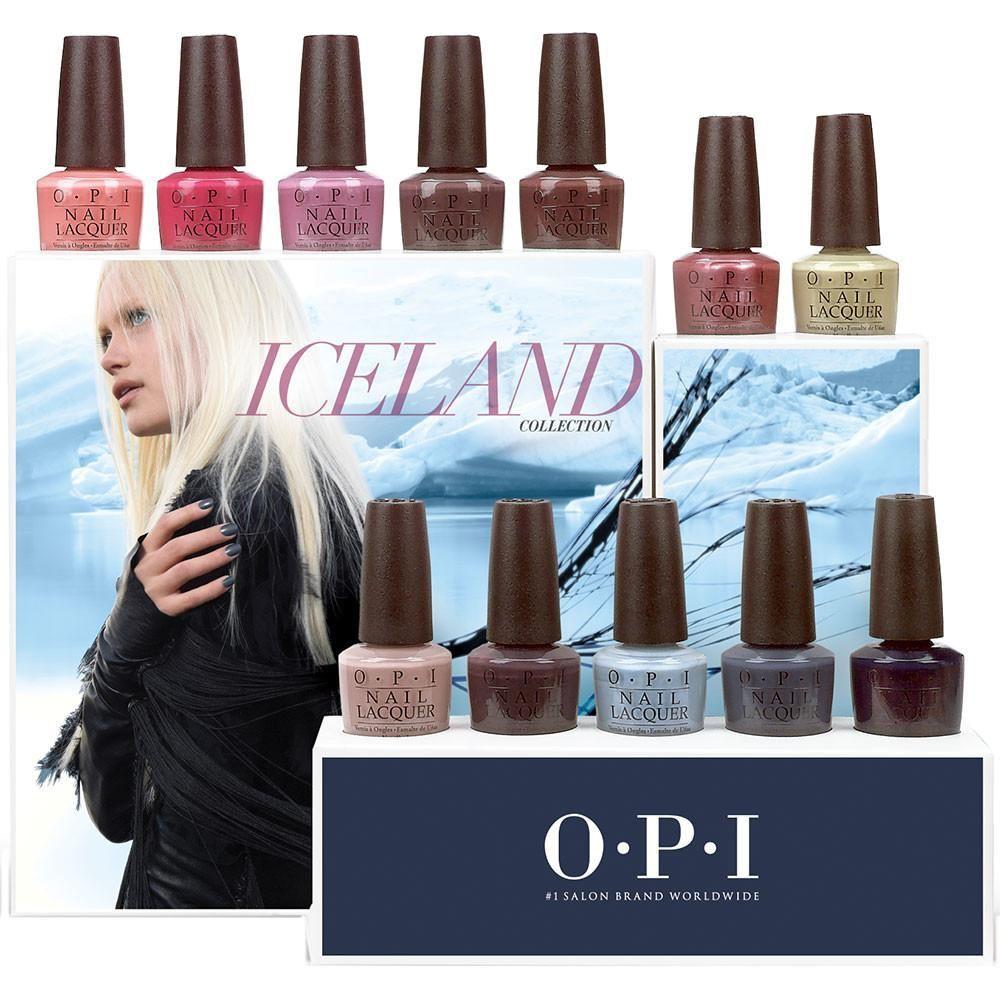 OPI Nail Lacquer - Fall 2017 - ICELAND - 12 Colors   Opi nails, OPI ...