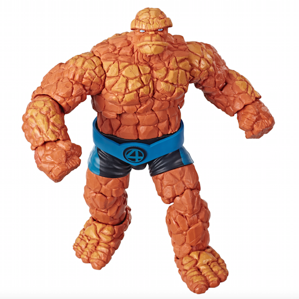 Hasbro Marvel Legends Fantastic Four The Thing Super Skrull Wave Figure 19 99 On Amazon Fantastic Four Marvel Marvel Legends Series Fantastic Four
