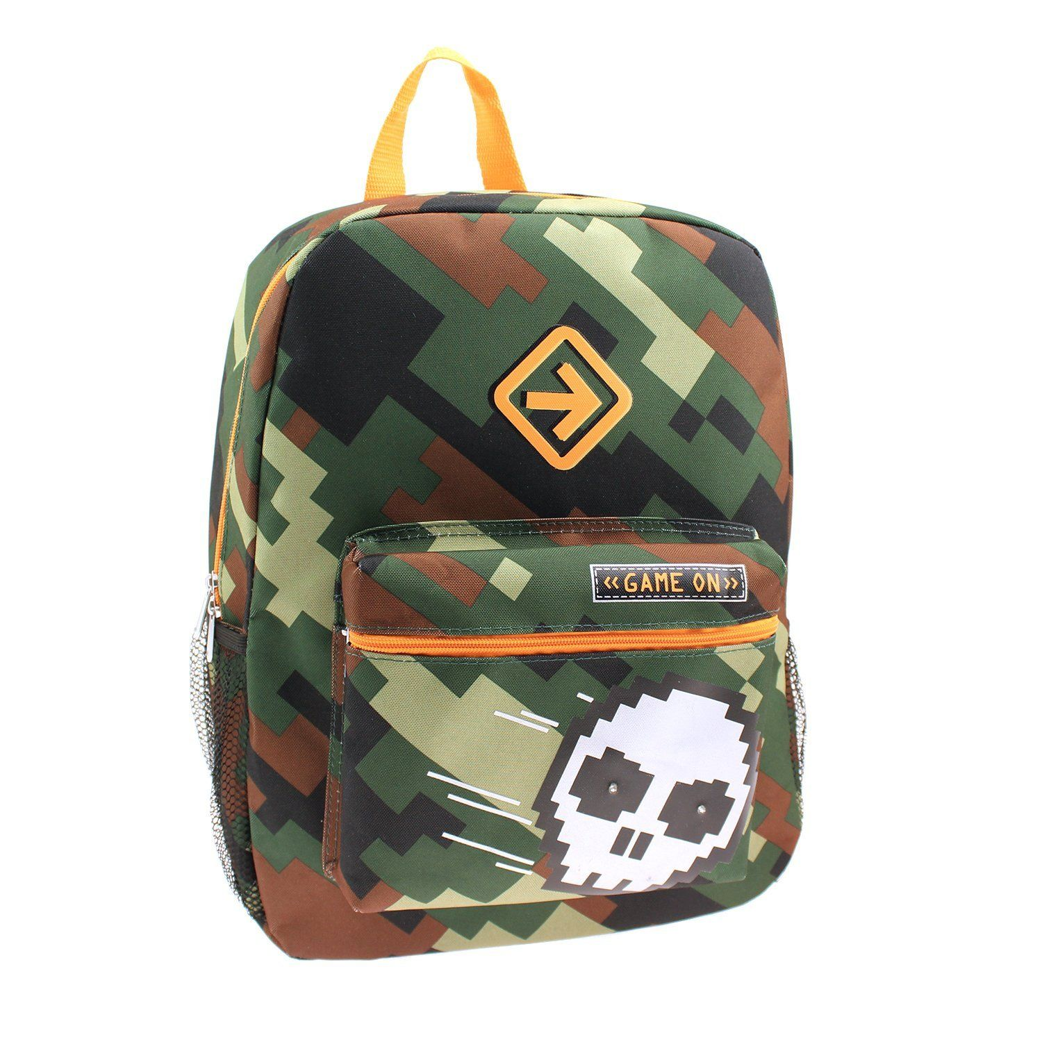 Boys Skull 'Game On' 16' Light up Backpack You can get
