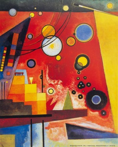 Wassily-Kandinsky-Heavy-Red-1924-Poster-Abstract-Art-Print-20x16in-81626