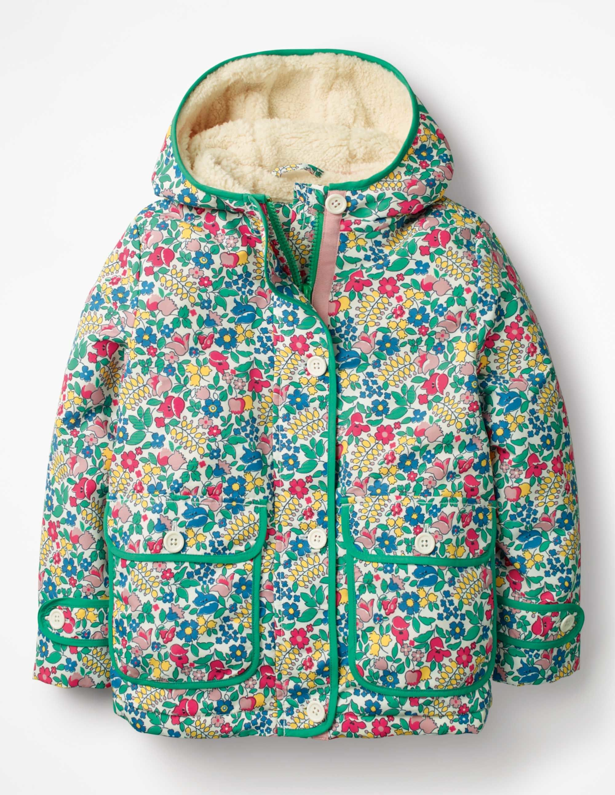 Sherpa Lined Anorak G0628 Coats at