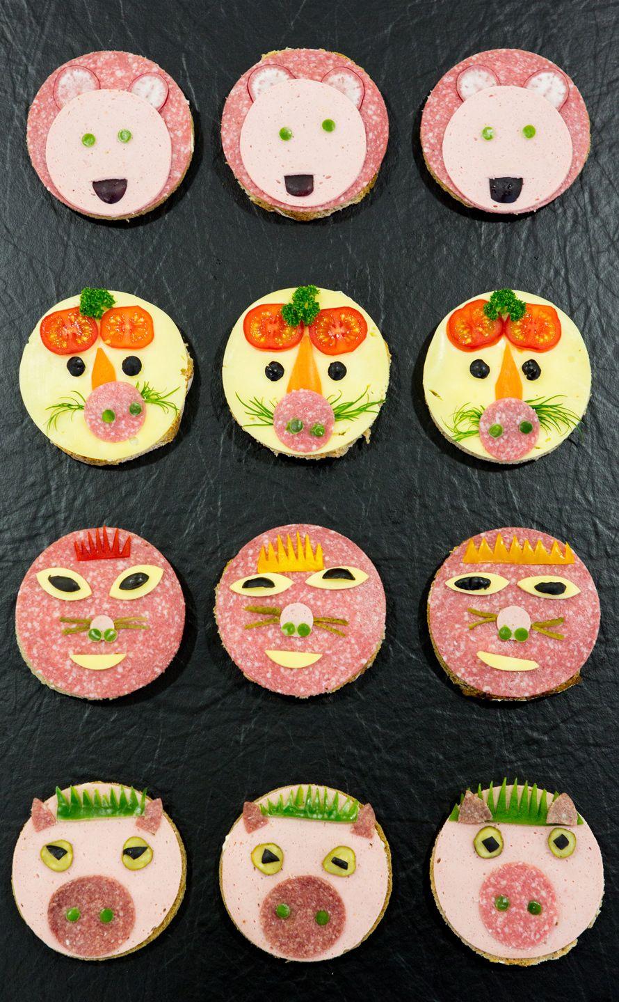 buffet kindergeburtstag kids birthday pinterest essen f r kinder lustig essen und kinderessen. Black Bedroom Furniture Sets. Home Design Ideas