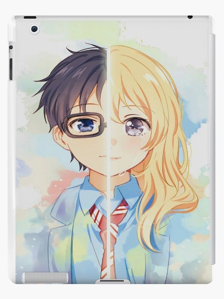 Anime Girls. Lie In April. Miyazono Kaori. Ipad Snap Case by cherfas