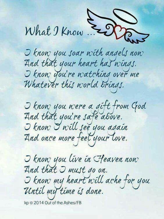 Heaven Holds Ones I Love