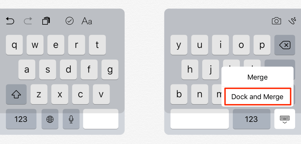 How To Fix A Split Keyboard On Ipad Keyboard Ipad Keyboard Fix It