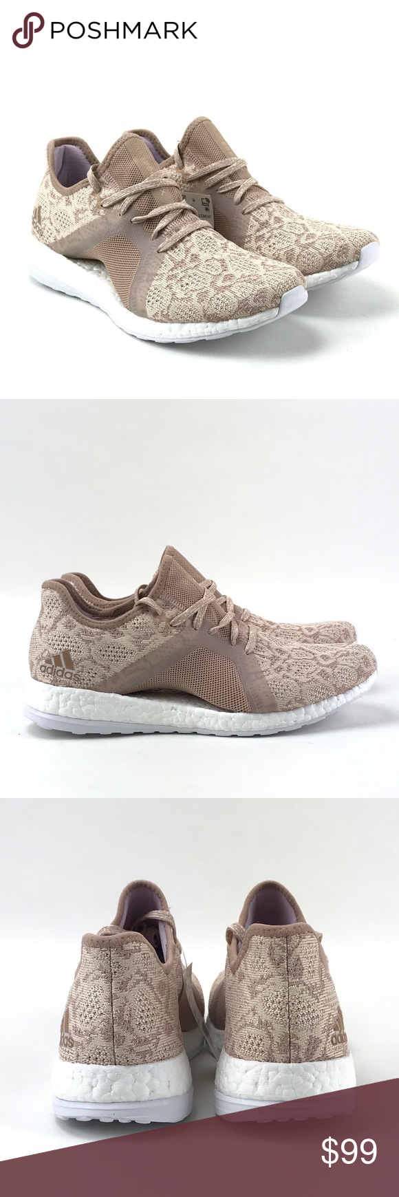 49e0b89ad91b0 Adidas Womens Pure Boost X Element Ash Pearl Shoes Adidas Womens Pure Boost  X Element Ash Pearl   Hi Res Blue BB6088 Shoes New without box.