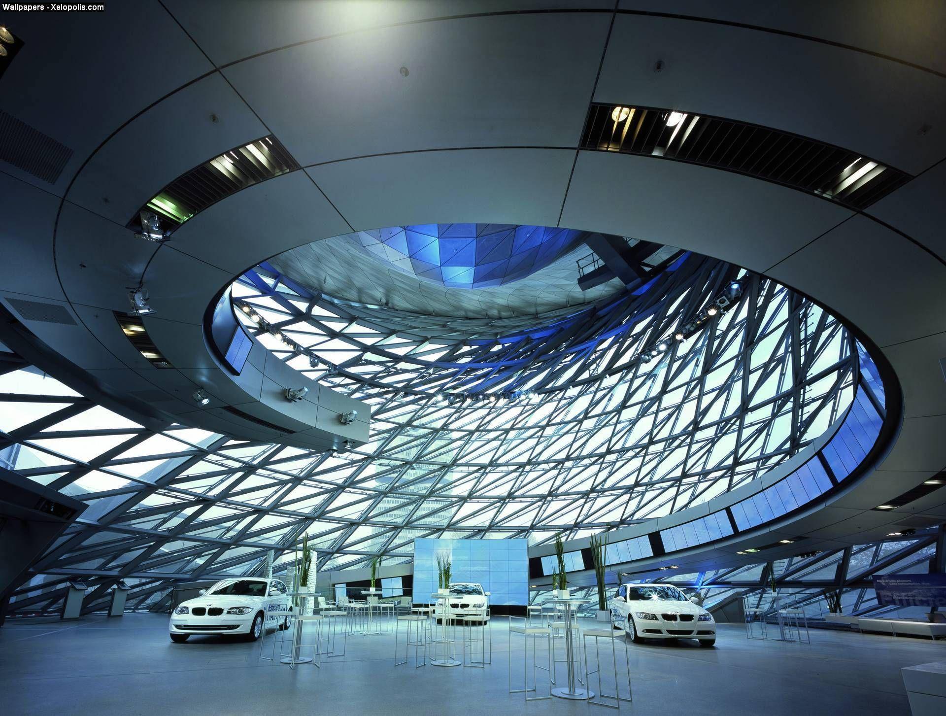 Centro Bmw Leipzig Zaha Hadid Modern Architecture