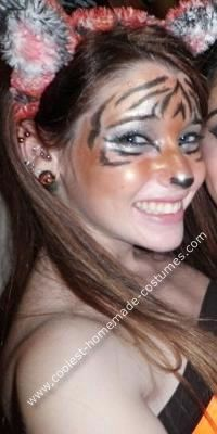 sc 1 st  Pinterest & Coolest Homemade Tiger Costume