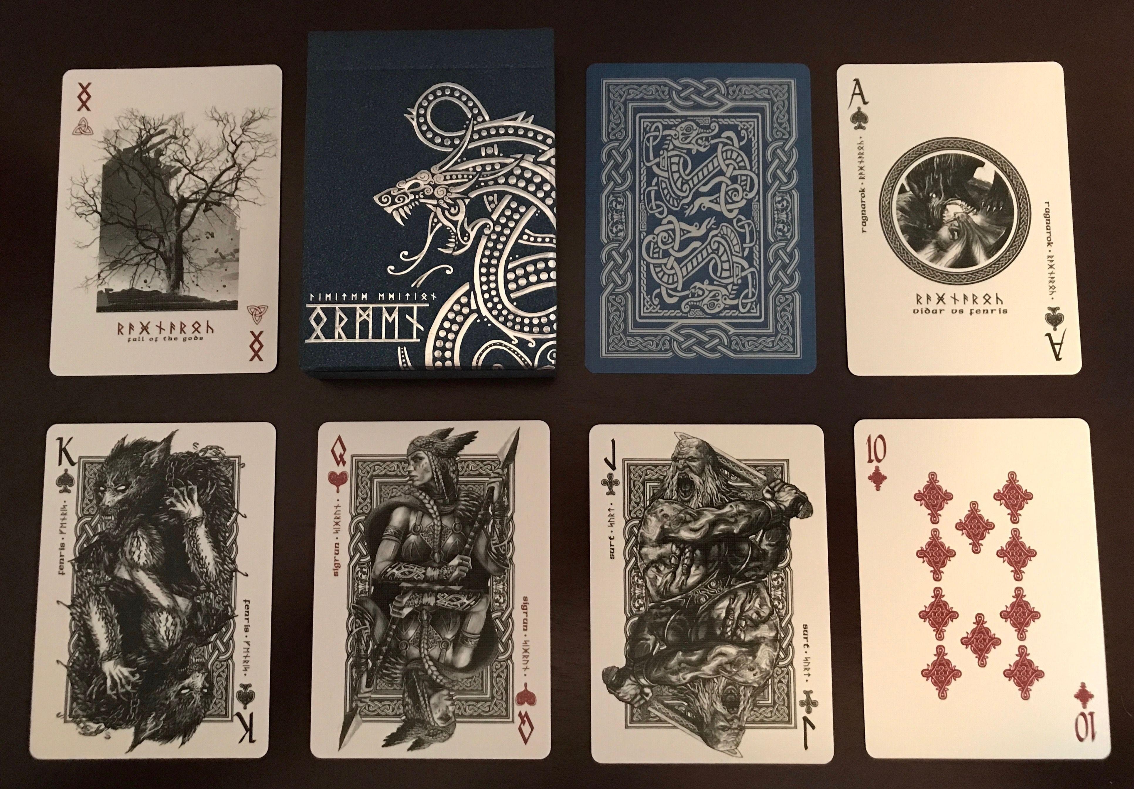 Ragnarok: Jormungand  Playing cards art, Cards, Joker playing card