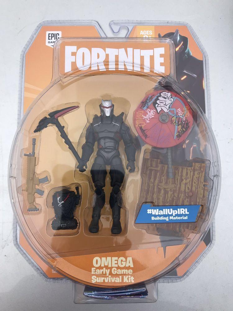 Fortnite Action Figure 4 Omega Early Game Survival Kit Fortnite