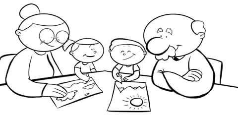 La Familia Abuelos Nietos Infant Daycare Science Activities Grandparents Day
