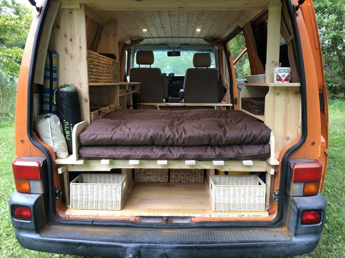 Vw T4 Camper Gesundheitshof Denker In 2020 Vw Bus Interior Vw T4 Camper Campingbus Ausbau