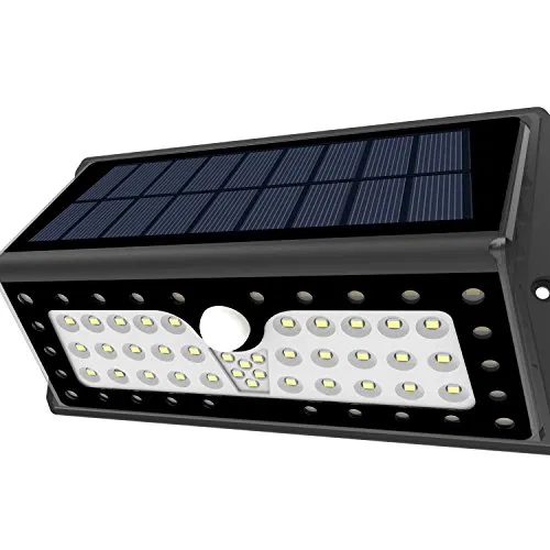 Solar Lights Lampat Outdoor 62 Leds Super Bright Motion Sensor Lights With Wide Angle Illumination Wireless Waterproof Security Lights For Wall Driveway Pa In 2020 Motion Sensor Lights Solar Lights Best Solar Lights