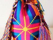 Wayuu Mochila Bolso (única) - Boho Chic Bag
