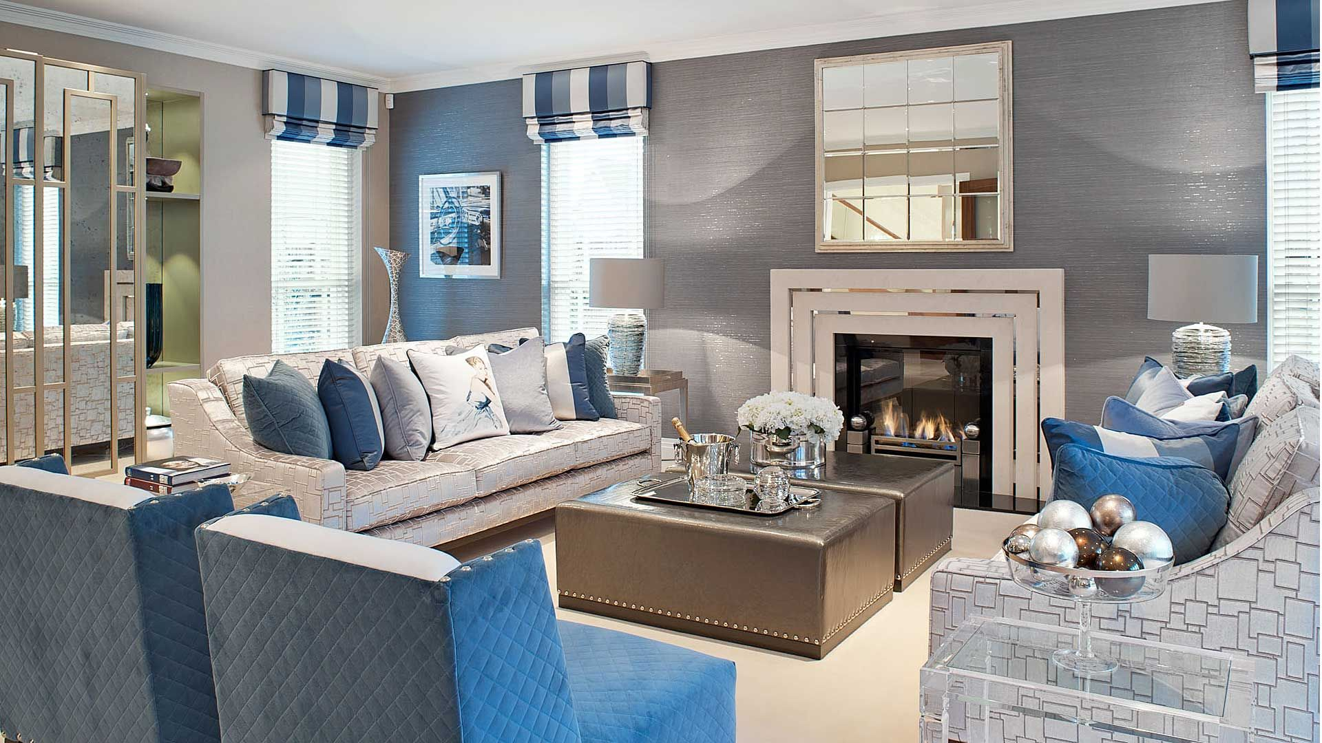 Kingswood Family Home, UK Project, Interior Design Portfolio, Hill House  Interiors Are A London Based Interior Design Company With A Showroom In  Elystan ...