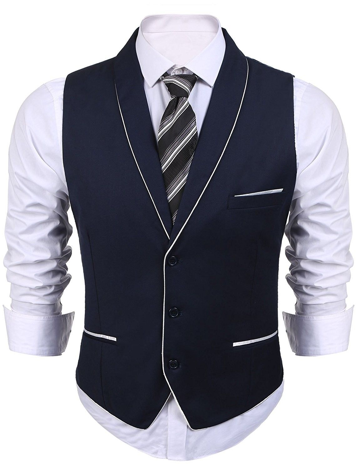 Mens V Neck Formal Chalecos De Hombre Waistcoat Wedding Suit Dress Vest Navy Blue Cd1855etu9t Mens Suit Vest Vest Dress Business Suit Vest,Champagne Silk Slip Wedding Dress