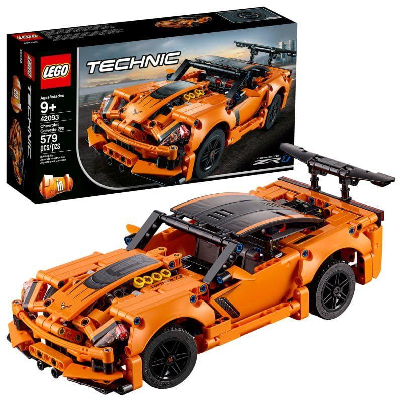 Lego Technic 42093 Chevrolet Corvette Zr1 Lego Zabawki Dla