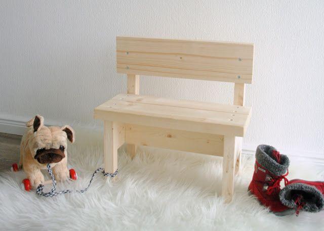 bunte knete von frl p ng kinderbank diy mit bauanleitung basteln und bauen. Black Bedroom Furniture Sets. Home Design Ideas