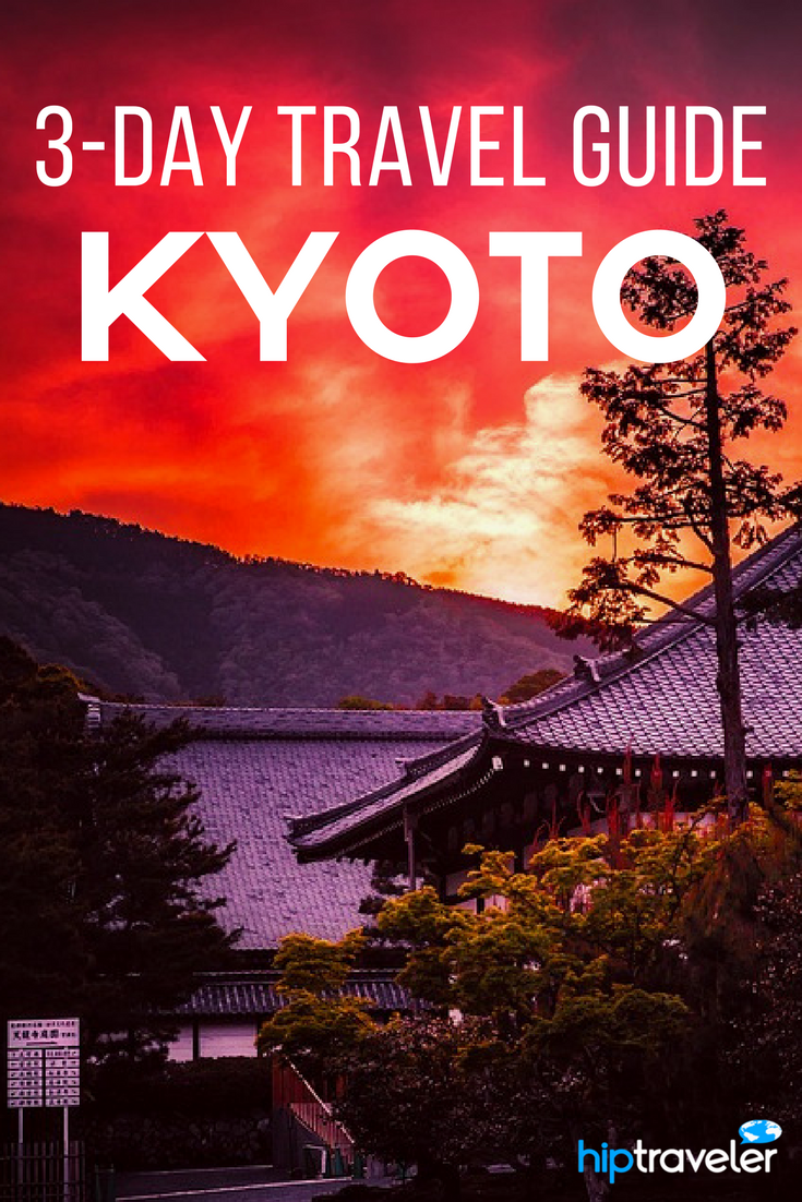 A complete 3 day travel guide to exploring Kyoto, Japan. Best things to do including stops at the Golden Pavilion, the bamboo forest, and more. Best of travel in Asia. | Blog by HipTraveler: Bookable Travel Stories from the World's Top Travelers