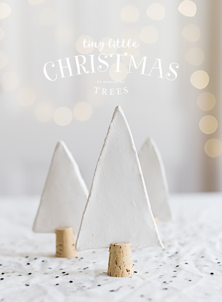 Photo of DIY: TINY LITTLE CHRISTMAS TREES — Fine art wedding and lifestyle photography …