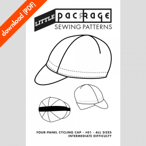 4 panel Little Package sewing pattern cover