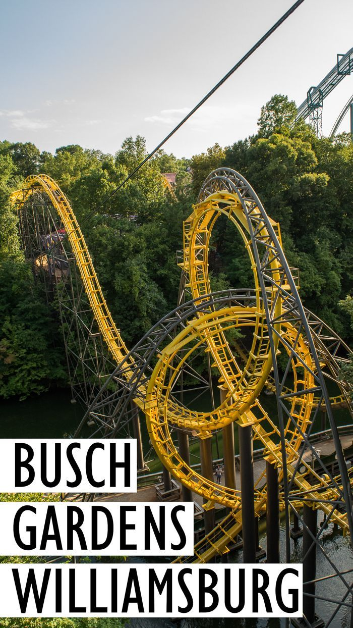 Almost Everything You Need To Know About Visiting Busch Gardens Williamsburg  In Virginia | Tips For Visiting Busch Gardens Williamsburg | Theme Park  Reviews ...