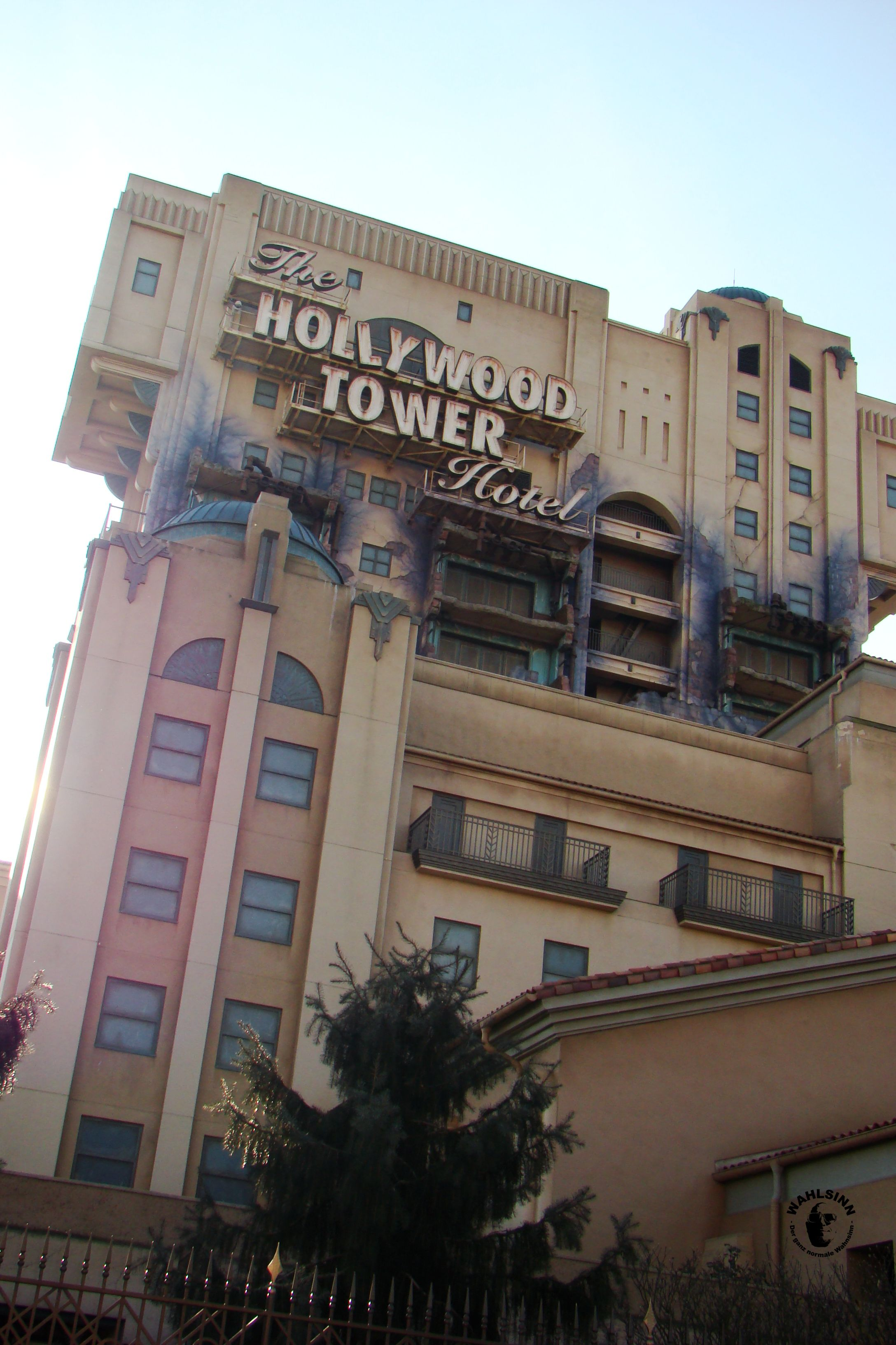 Disneyland Paris // Waöt Disney Studios - Tower of Terror // Hollywood Frefall Tower
