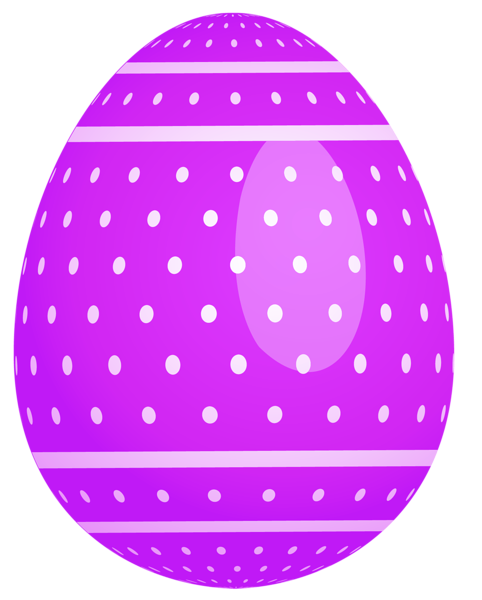 Purple Dotted Easter Egg Png Clipart Easter Egg Pictures Easter Graphics Easter Eggs