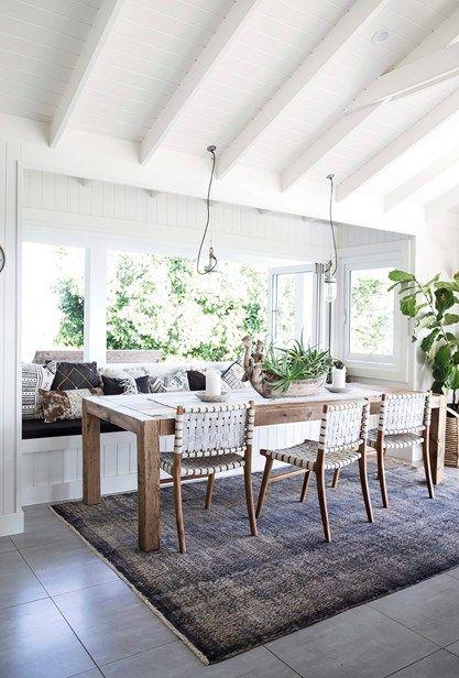 Home Inspiration: Hamptons Style Holiday Haven   Homes, Bathroom, Kitchen U0026  Outdoor | Home Beautiful Magazine Australia