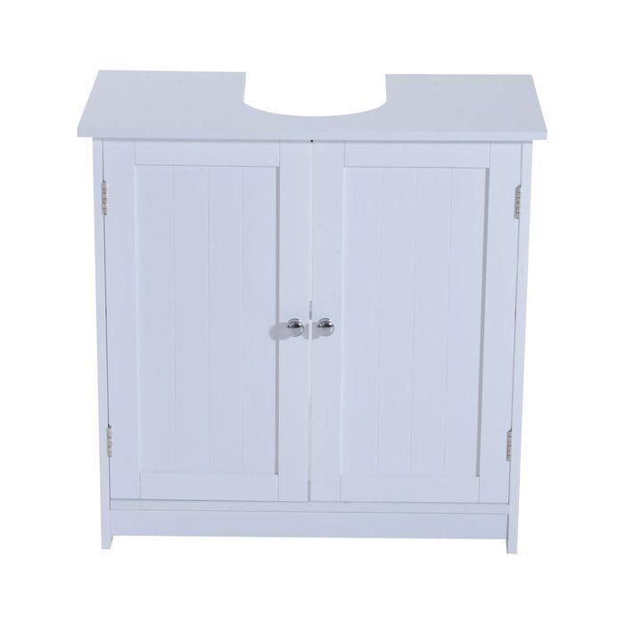 30cm Free-Standing Under Sink Storage Unit