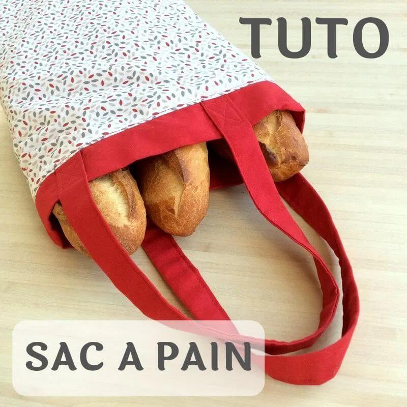 Sac à pains zéro déchet (Tuto gratuit) – Tricot crochet couture, modèles gratuits