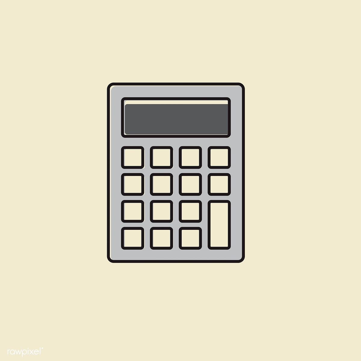 Vector of calculator icon | free image by rawpixel.com ...