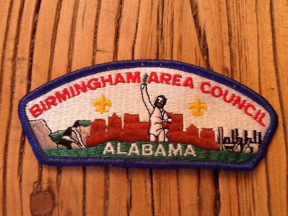 Birmingham Alabama Area Council Boy Scout Patch by HeydayRetroMart, $5.00