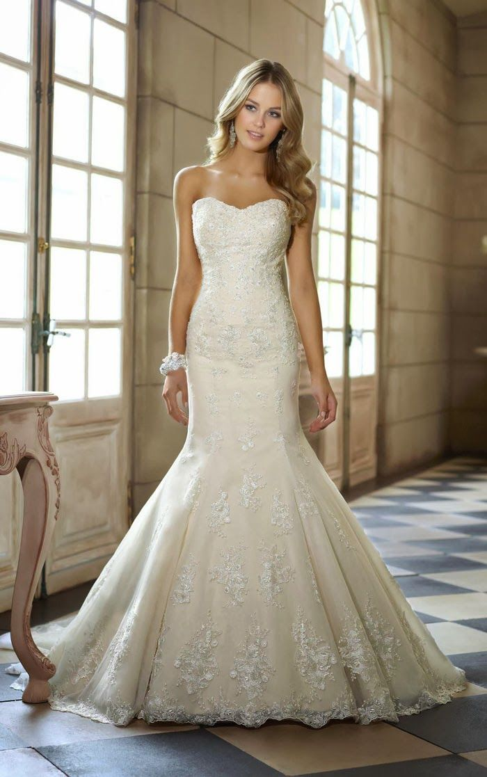 lace strapless wedding dresses – tusstk
