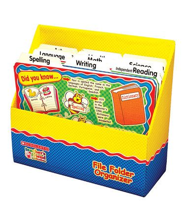 Take A Look At This Curriculum File Folder Organizer By