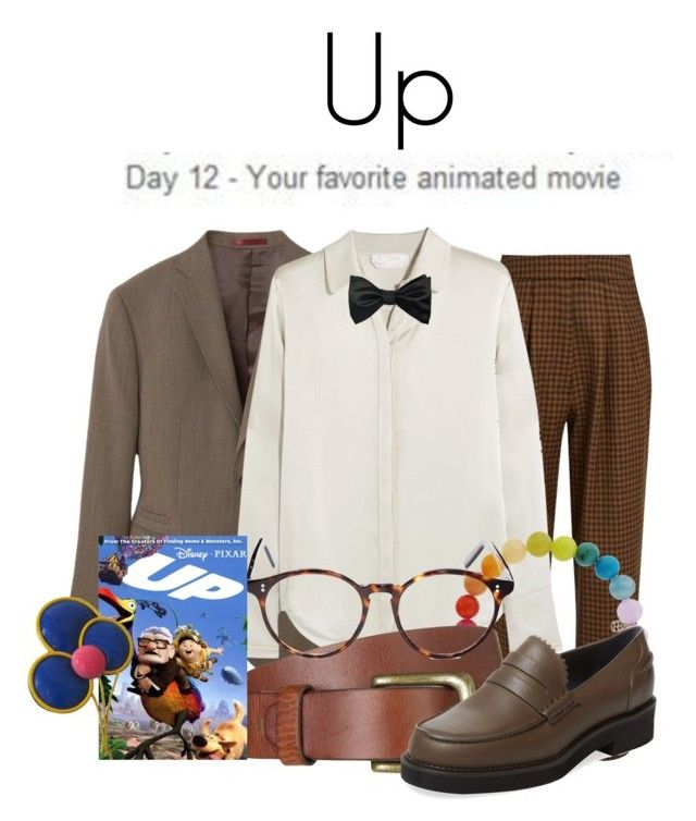 """""""Day 12: Up"""" by megan-vanwinkle ❤ liked on Polyvore featuring MANGO, Isa Arfen, Chloé, Louise & Zaid, Sydney Evan, Will Leather Goods, Cutler and Gross, Jil Sander Navy and meg30daymc"""