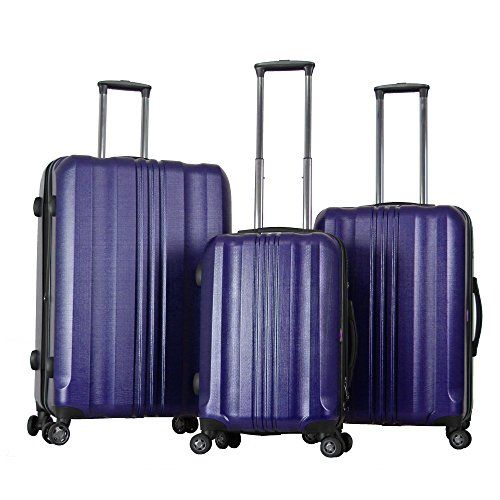 be0267bbd Gabbiano the Metallic Collection 3Piece Hardside Luggage Set 212529 >>>  Details can be found by clicking on the image.