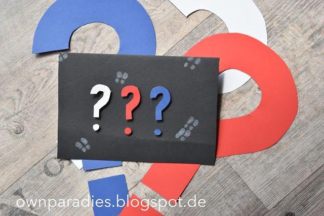 Party | Motto Detektive Einladung , 3 Fragezeichen