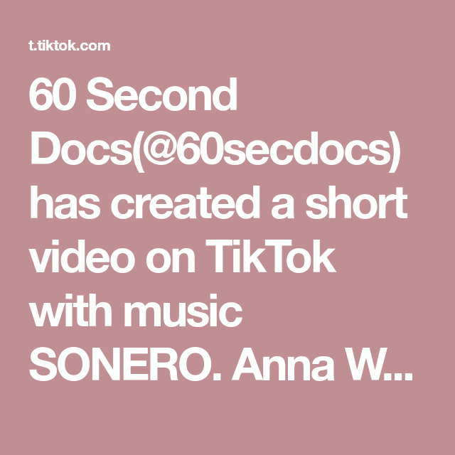 60 Second Docs 60secdocs Has Created A Short Video On Tiktok With Music Sonero Anna Walls Started Her Company Diaceht To Make Handcrafted Hyper Realistic Pr