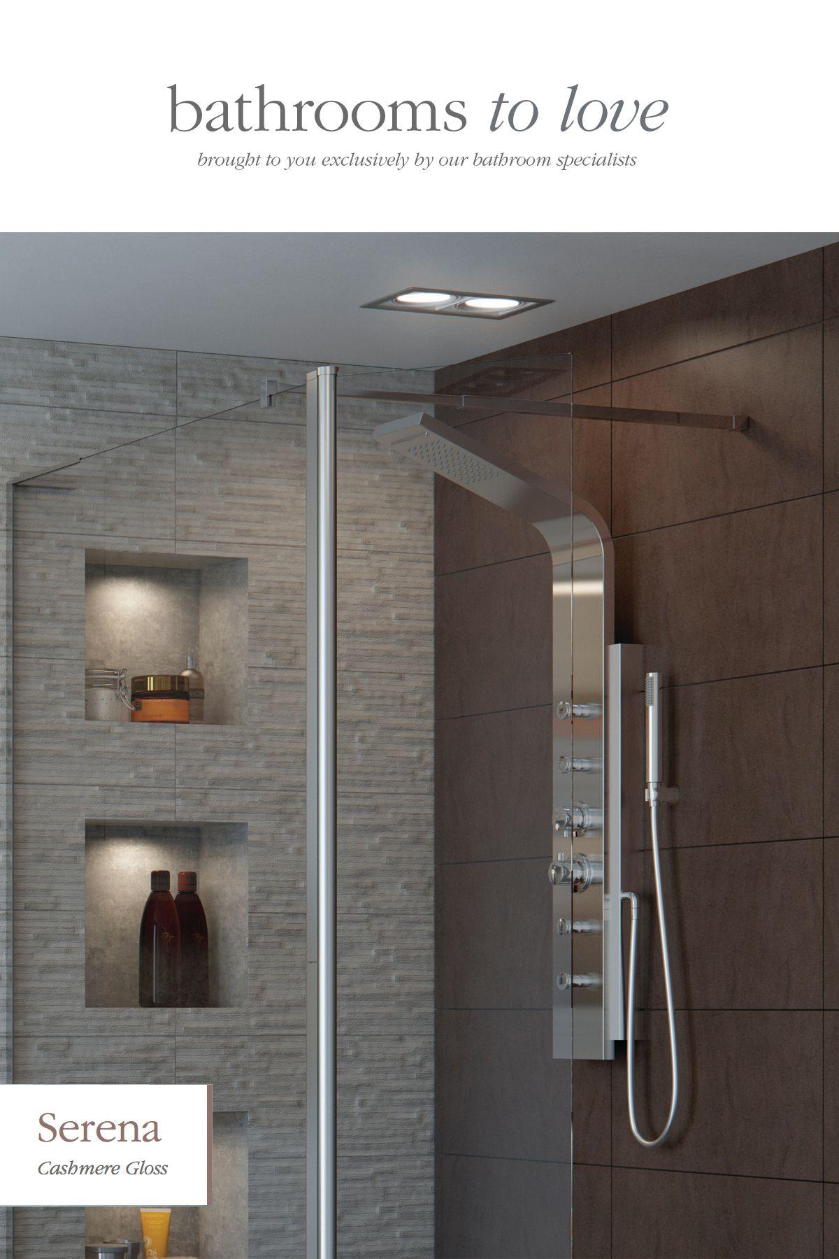 Reflexion 8 Wetroom Panel With Rotate Splash Aurora Shower Tower Modernshower