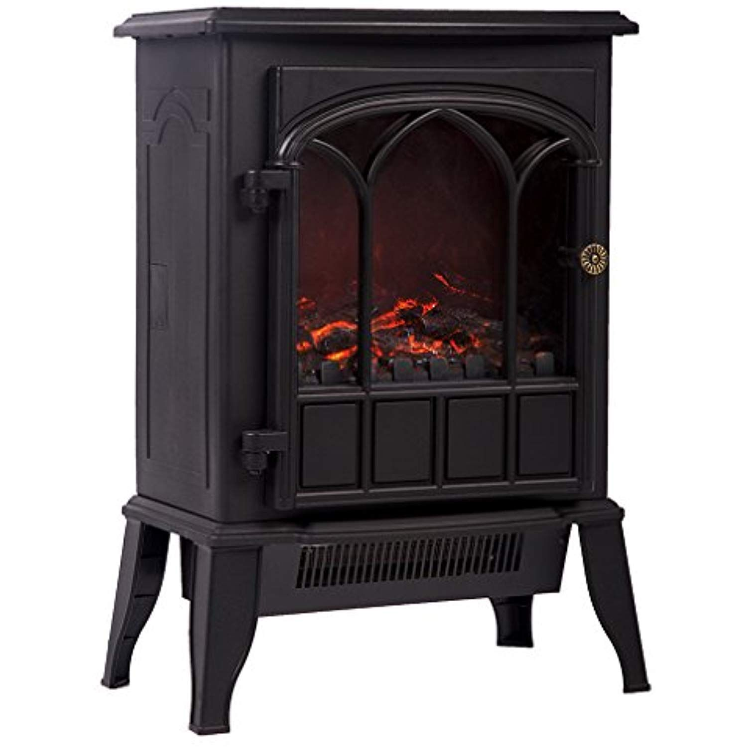 Bestmassage electric fireplace heater ww free standing