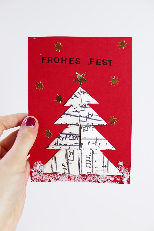 DIY Geschenke für Weihnachten: 3 originelle DIY-Ideen | Origami ...
