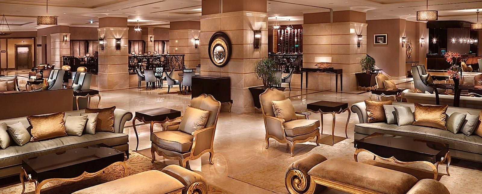 The Divan Hotel In Turkey Is Adorned With Gorgeous Furnishings From  Christopher Guy. LOBBY
