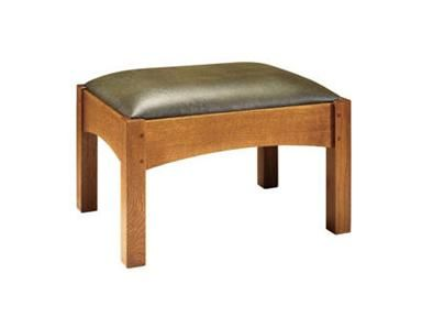 Stickley Living Room Footstool 89-2591 - David's Furniture ...