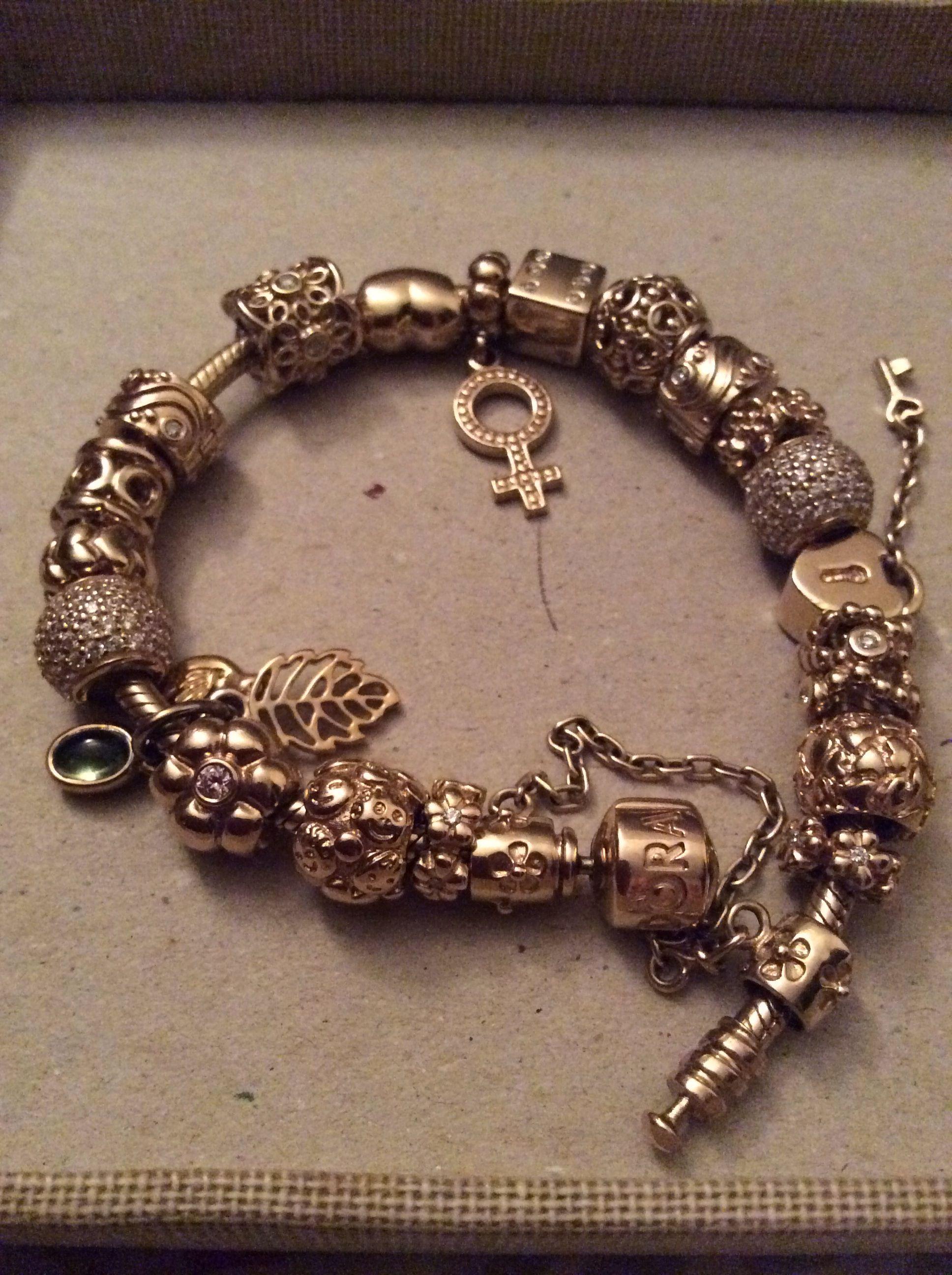 Gold pandora pandora bracelets pandora bracelet