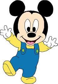 Resultado De Imagen Para Mickey Mouse Bebe Dibujos