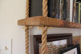 Hanging Diy Shelving Unit How Much Can Rope Ceiling Take Cause