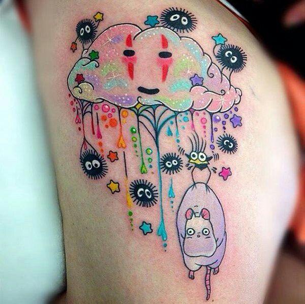 El viaje de chihiro tattoo