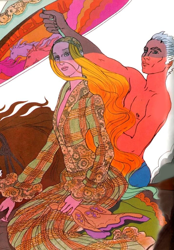 Late 1960s Antonio Lopez Illustration From Vogue Ilustracion